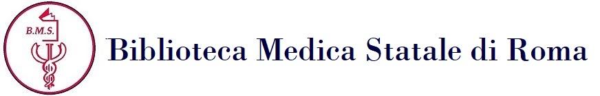 BIBLIOTECA MEDICA STATALE